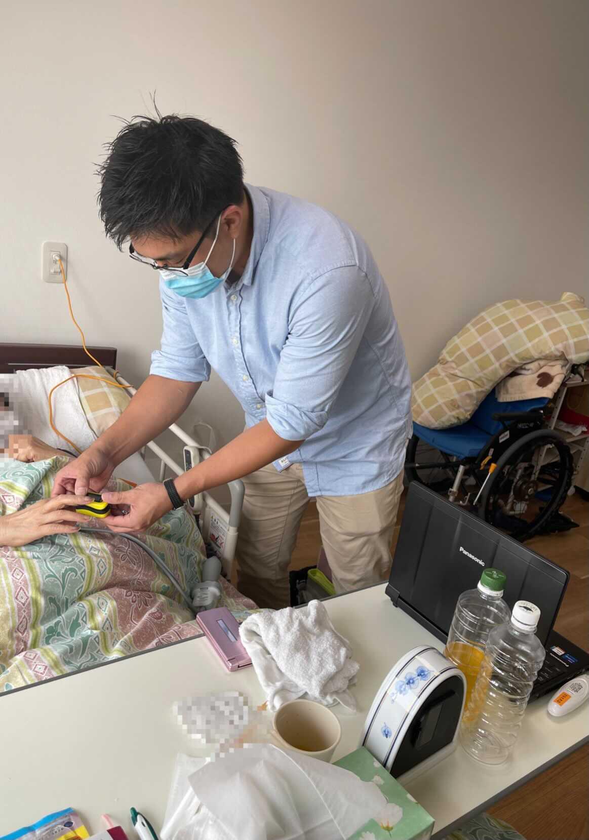 川崎先生が回診してくれました。のイメージ画像